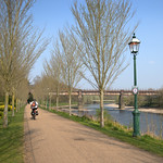 Riverside path at Preston