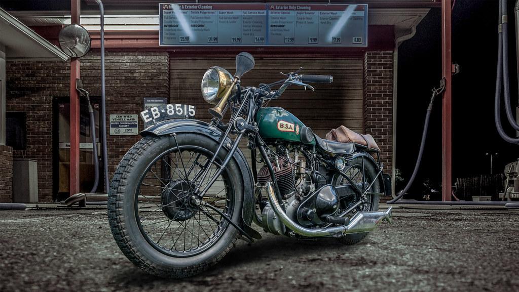 1930 493cc BSA Sloper