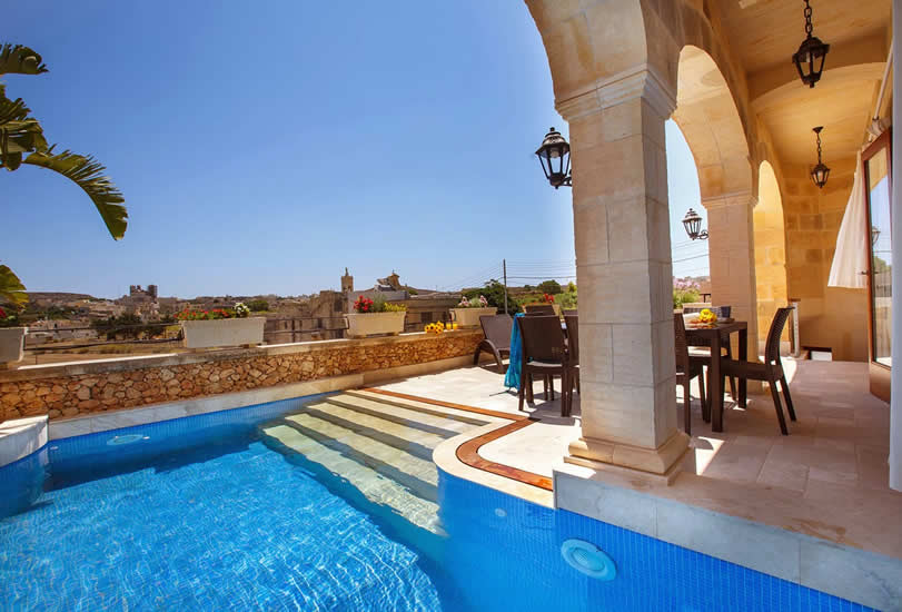 Accommodatie met privé-zwembad, Gozo: Carnini Farmhouses