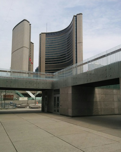Toronto City Hall from the immediate west #toronto #torontocityhall #cityhall #queenstreetwest
