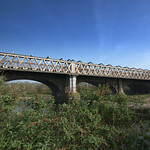 Bridge over the Ribble carying the Westcoast Mainline Railway