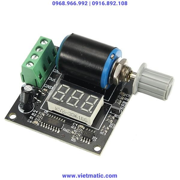 Bộ phát tín hiệu dòng điện nhỏ gọn, dễ sử dụng