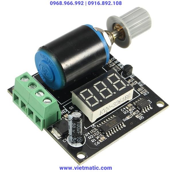 Hiển thị dòng điện bằng LED, điều chỉnh tín hiệu bằng biến trở