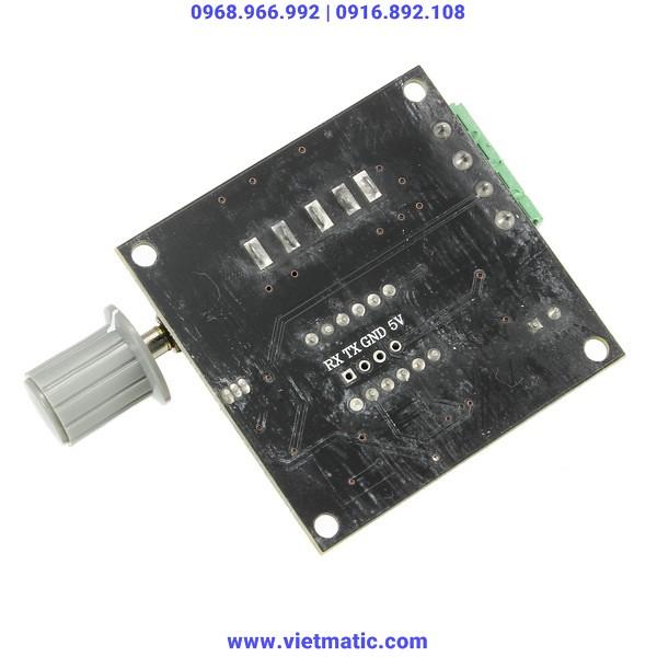 Mặt dưới của bộ phát tín hiệu 4-20mA