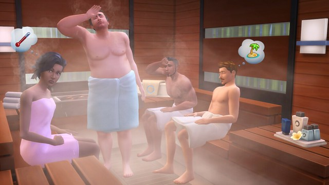The Sims 4 Dia de Spa é Lançado para Playstation 4 e Xbox One