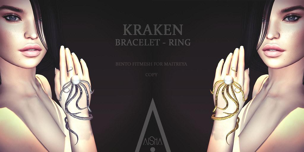 .AiShA. Kraken Bracelet Ring @Fantasy Faire 2019