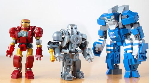 Lego Iron Man Mark I