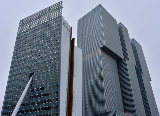 'Kop van Zuid' in Rotterdam