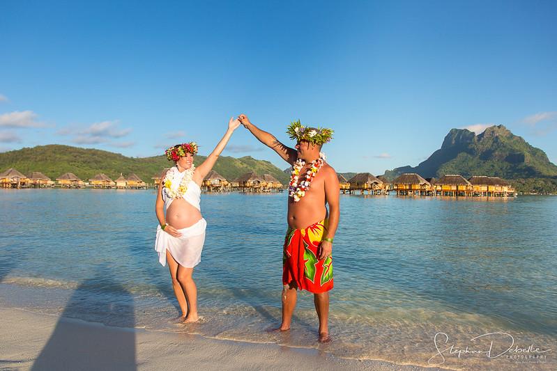Dawn & Paul - The Pearl Beach Bora Bora