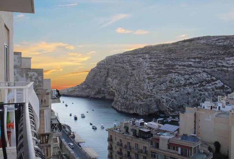 Vakantie Gozo: Xlendi Heights Appartementen
