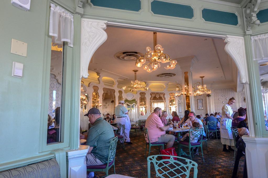 Plaza Restaurant inside MK