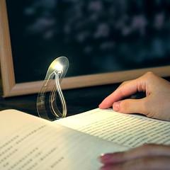 Ultra dunne leeslamp nano technologie minder dan 0,1 mm