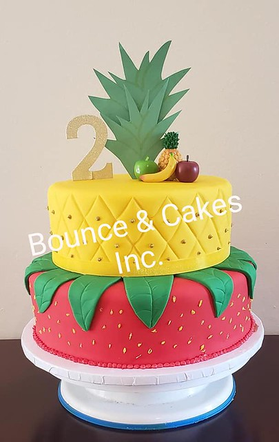 Cake by Bounce & Cakes Inc.