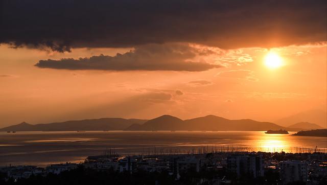 leaving Piraeus back