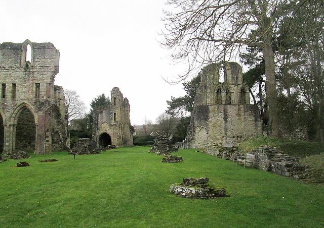 Ruined Buildings, Wenlock Priory