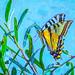 Sunlit Butterfly Wings by FotoGrazio