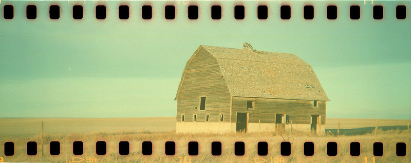 Cross Processed Barn