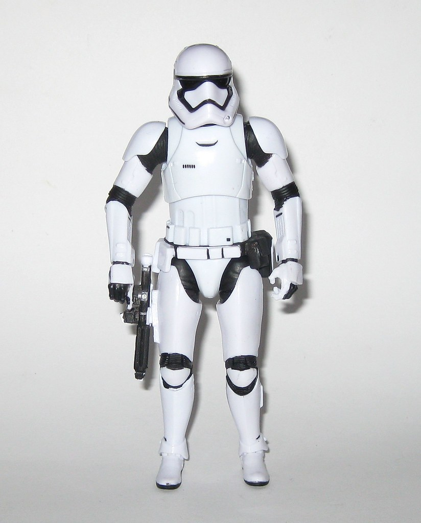 "HASBRO Star Wars Black Series 6/"" TFA Action Figure # 04 FIRST ORDER STORMTROOPER"