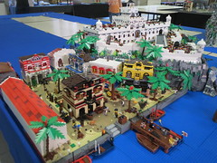 BRICKMANIA WETTEREN PIRATE LAYOUT