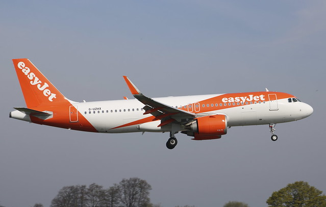 G-UZHX Airbus A320-251NSL easyJet
