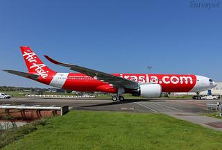 F-WWYG Airbus A330 Neo Thai Air Asia | by @Eurospot