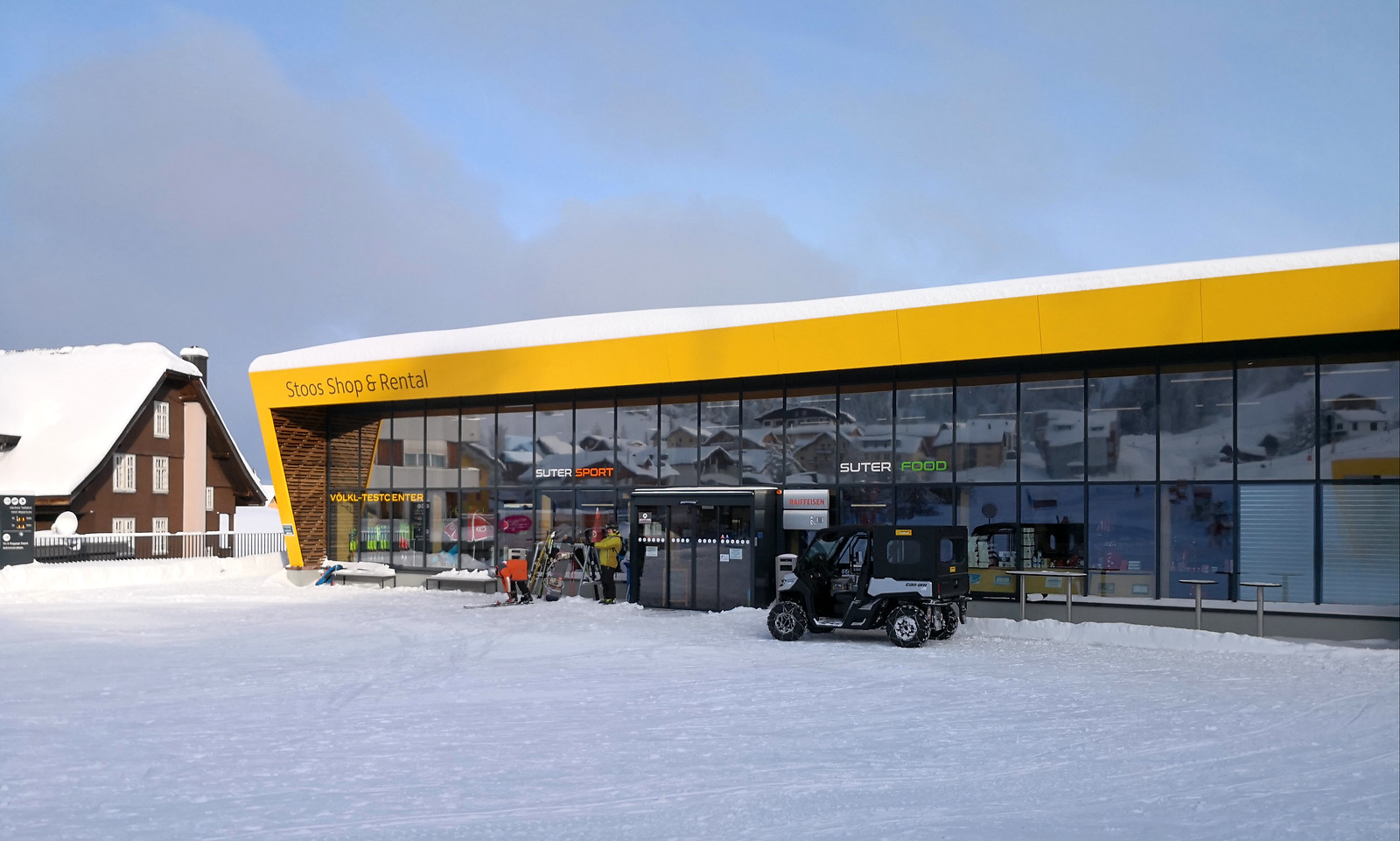 Shop and rental centre