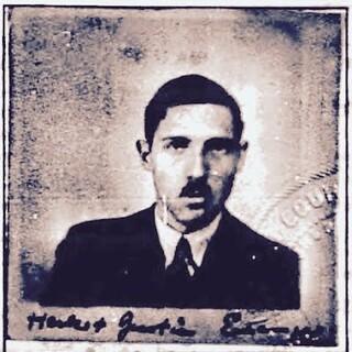 HERBET ERLANGER Passport portrait 1935