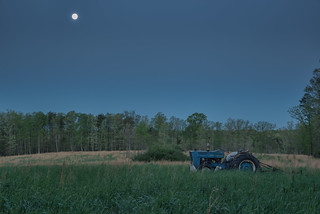 Tractor and Full Moon | by Vincent1825