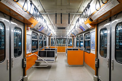 Istanbul Metro - Line 1 cabin 001