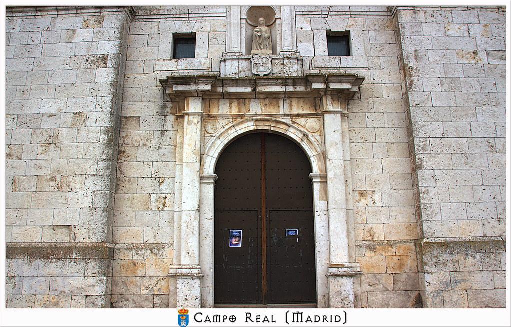 Iglesia de Nuestra,Señora del Castillo en Campo Real de Madrid