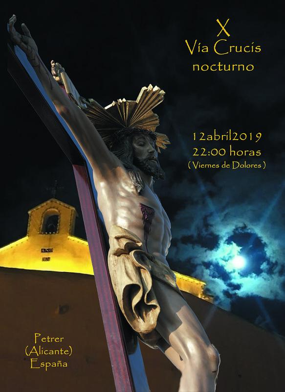 ElCristo - Historia - Documentos - (2019-03-12) - Cartel X Vía-Crucis nocturno