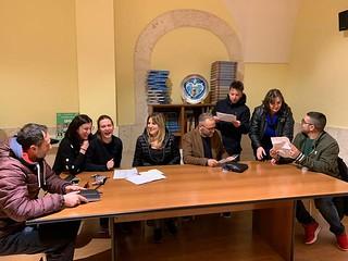 mentiCreattive a lavoro con Daniele Condotta, Nicola Caldarulo Vitone e Francesca Cirone