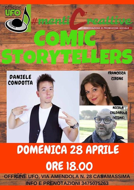 comic storytellers 28 aprile