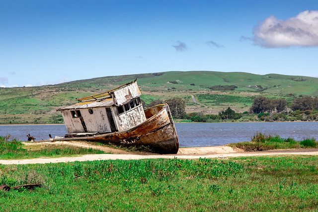 The Point Reyes - Wrecked in Inverness