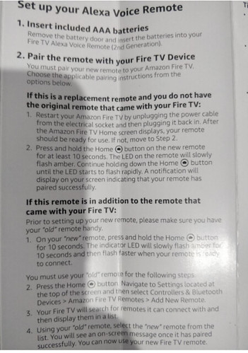 Fixed] Amazon Alexa Voice Fire TV Remote Not Working