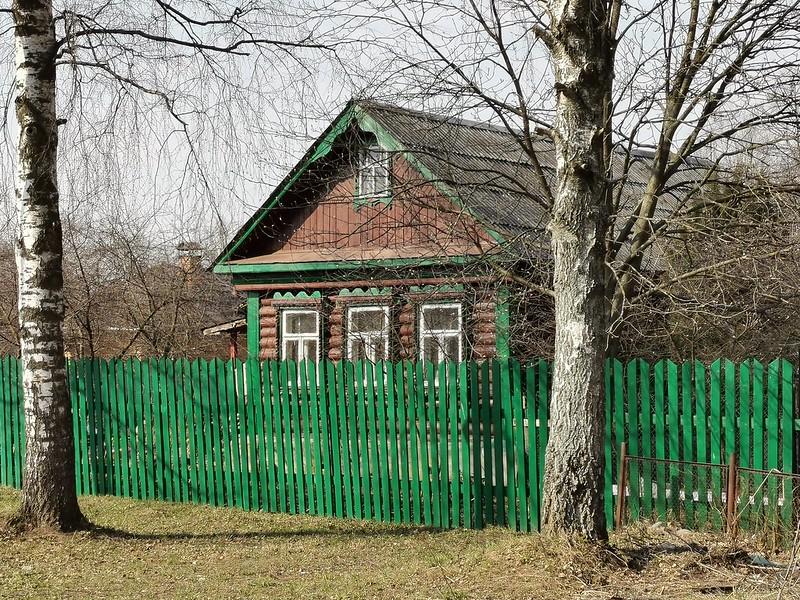 Novofrjasino (neue Frjasino) Dorf.