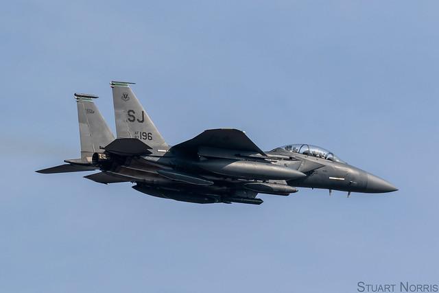 F-15E Strike Eagle 87-0196 - 335th Fighter Squadron Seymour Johnson AFB