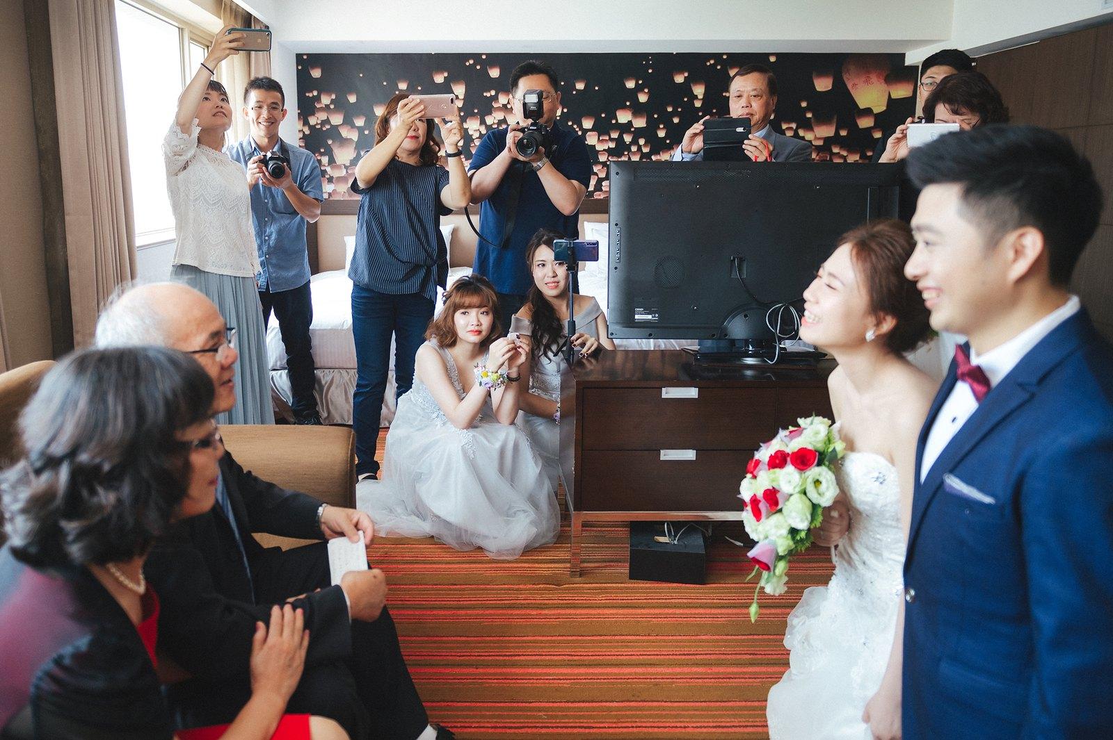 【婚攝】Leon & Katie / 桃花園飯店 / 來福星花園大飯店