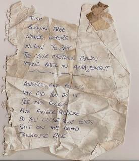 Set list LIFE @ Teaser 1978
