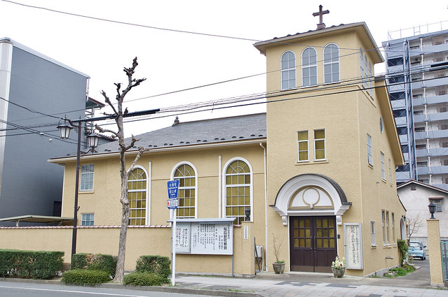 福島新町教会 Church of Fukushima Shinmachi