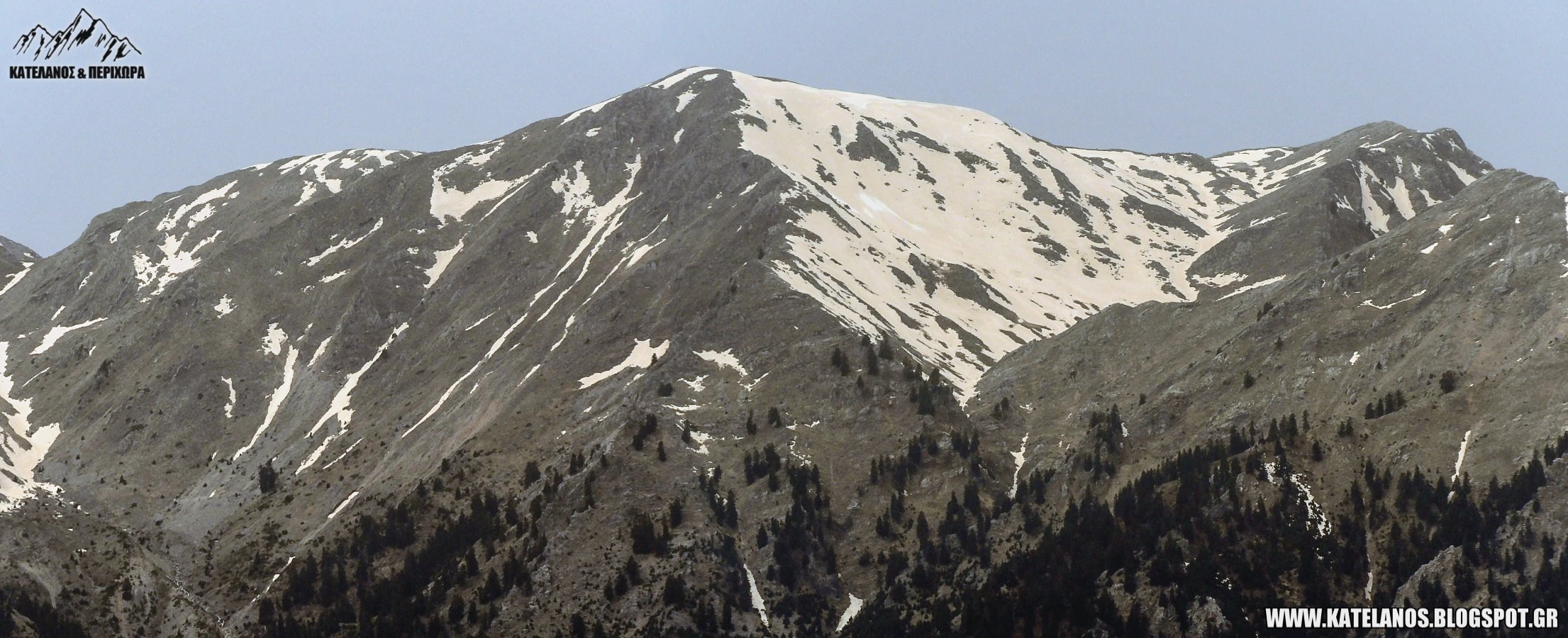 κατελανος βουνο χιονουρες