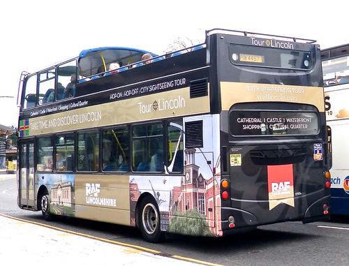 PIW 4457 'Stagecoach Lincolnshire' No. 16943 'CITY SIGHTSEEING TOUR'. Volvo B7TL / Wright Eclipse Gemini /2 on Dennis Basford's railsroadsrunways.blogspot.co.uk'