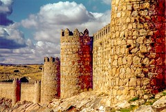 The Ancient City of, Avila, Spain - Medieval City Walls
