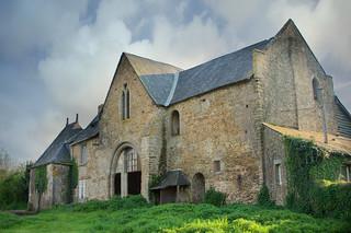 La porterie de l'abbaye