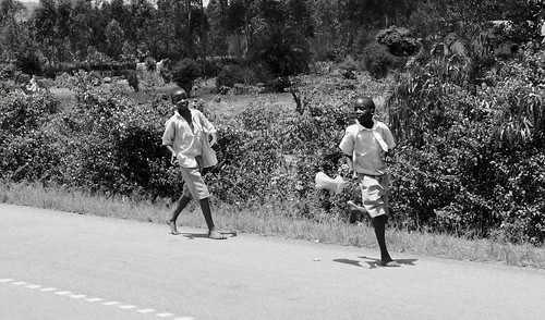 Uganda School Run....