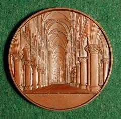 Notre Dame medal reverse