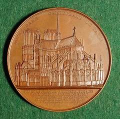 Notre Dame medal obverse