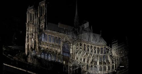 Notre Dame digital scan