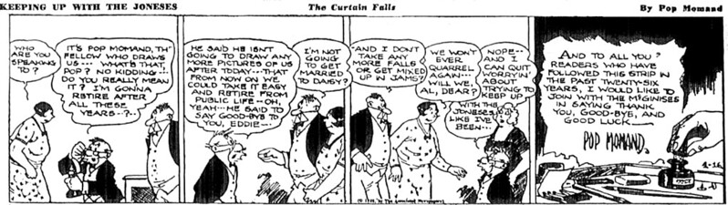 Keeping Up with the Joneses (16 April 1938)