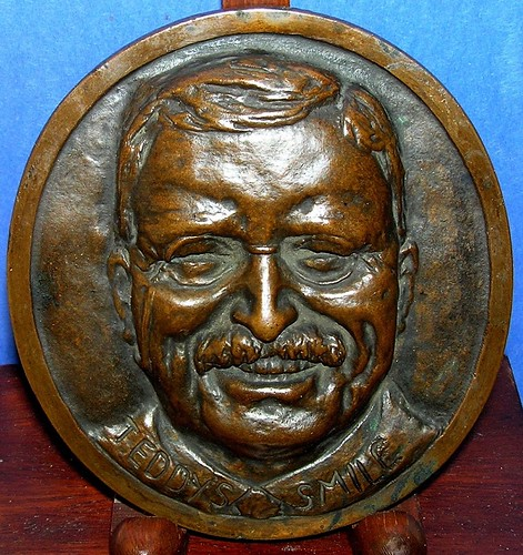 Teddy's Smile Bronze Plaque